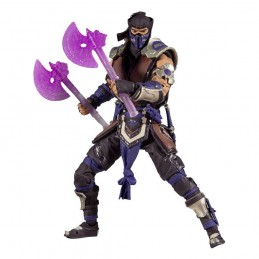 MORTAL KOMBAT SUB ZERO WINTER PURPLE 18CM ACTION FIGURE MC FARLANE