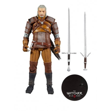 THE WITCHER GERALT OF RIVIA 18CM ACTION FIGURE