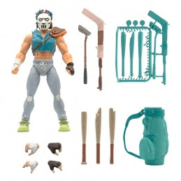 TEENAGE MUTANT NINJA TURTLES ULTIMATES CASEY JONES ACTION FIGURE SUPER7