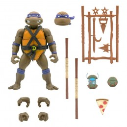 TEENAGE MUTANT NINJA TURTLES ULTIMATES DONATELLO ACTION FIGURE SUPER7