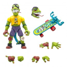 SUPER7 TEENAGE MUTANT NINJA TURTLES ULTIMATES MONDO GECKO ACTION FIGURE