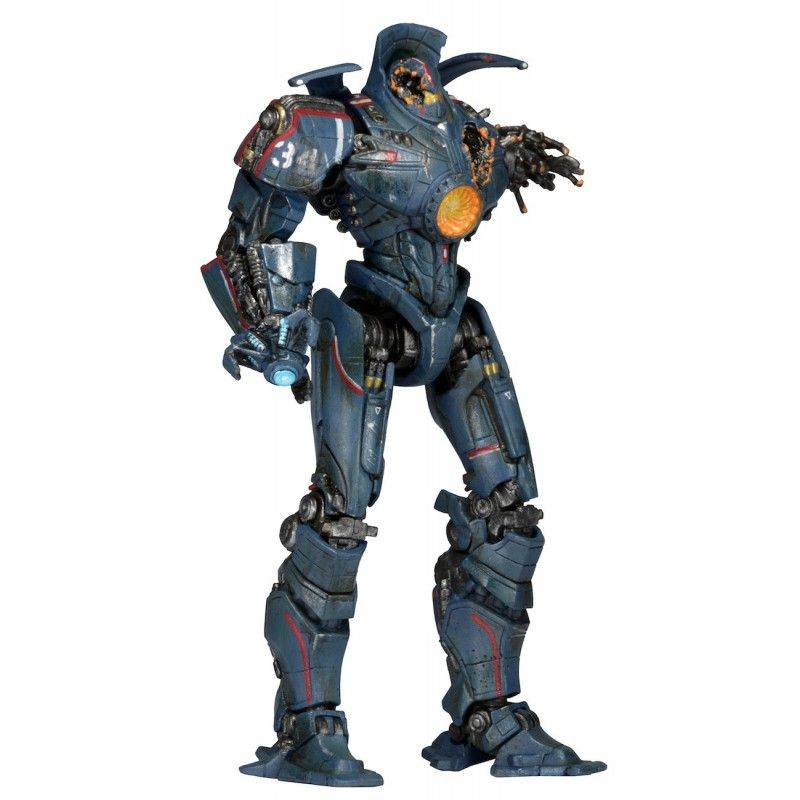PACIFIC RIM SERIES 5 JAEGER GIPSY DANGER BATTLE DAMAGED ACTION FIGURE NECA