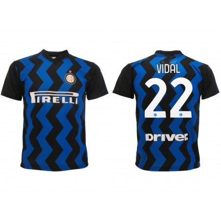 MAGLIA CALCIO UFFICIALE FC INTERNAZIONALE 2020 2021 VIDAL