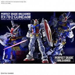 PERFECT GRADE PG UNLEASHED GUNDAM RX-78-2 1/60 MODEL KIT ACTION FIGURE BANDAI