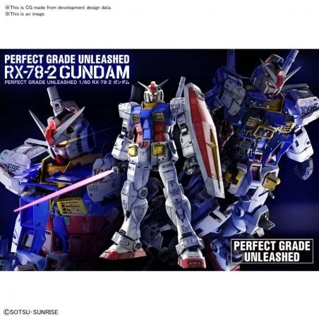 PERFECT GRADE PG UNLEASHED GUNDAM RX-78-2 1/60 MODEL KIT ACTION FIGURE