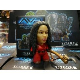 AVP ALIEN VS PREDATOR COLLECTION - ALEXA WOODS VINYL ACTION FIGURE TITAN