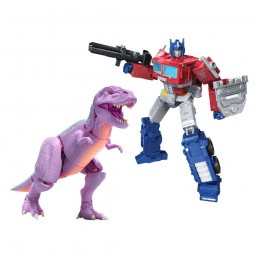 HASBRO TRANSFORMERS GENERATIONS WAR FOR CYBERTRON MEGATRON BEAST AND OPTIMUS PRIME ACTION FIGURE