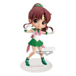 SAILOR MOON Q POSKET SUPER SAILOR JUPITER 14 CM MINI ACTION FIGURE BANPRESTO