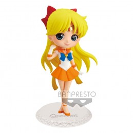 SAILOR MOON Q POSKET SUPER SAILOR VENUS 14 CM MINI ACTION FIGURE BANPRESTO