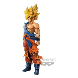 DRAGON BALL Z SUPER SAIYAN GOKU MANGA DIMENSIONS STATUA FIGURE BANPRESTO