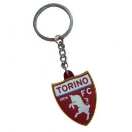TORINO FC LOGO IN GOMMA KEYCHAIN PORTACHIAVI