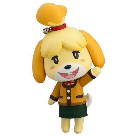 ANIMAL CROSSING NEW LEAF SHIZUE ISABELLE WINTER NENDOROID ACTION FIGURE