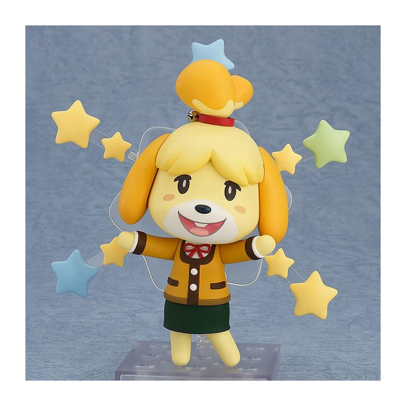 GOOD SMILE COMPANY ANIMAL CROSSING NEW LEAF SHIZUE ISABELLE WINTER NENDOROID ACTION FIGURE
