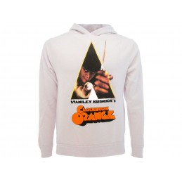 FELPA HOODIE CLOCKWORK ORANGE WHITE