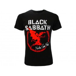 MAGLIA T SHIRT BLACK SABBATH NEVER SAY DIE