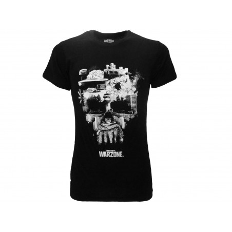 MAGLIA T SHIRT CALL OF DUTY MODERN WARZONE SKULL