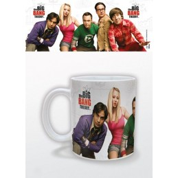 THE BIG BANG THEORY GROUP MUG TAZZA IN CERAMICA PYRAMID INTERNATIONAL