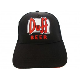CAPPELLO BASEBALL CAP SIMPSONS DUFF BEER NERO