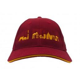 CAPPELLO BASEBALL CAP AS ROMA UFFICIALE CITTA'