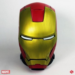 SEMIC IRON MAN MARK III HELMET SALVADANAIO COIN BANK FIGURE