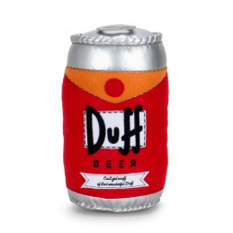 THE SIMPSONS DUFF BEER CAN PLUSH PELUCHE 25CM KIDROBOT
