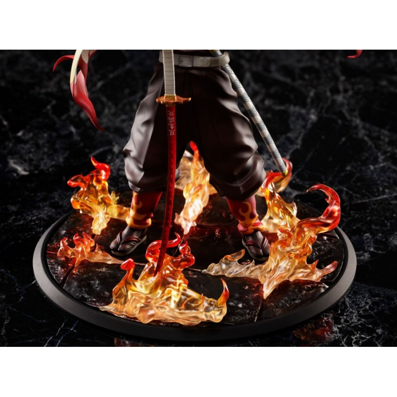 ANIPLEX DEMON SLAYER KYOJURO RENGOKU 1/8 STATUA FIGURE