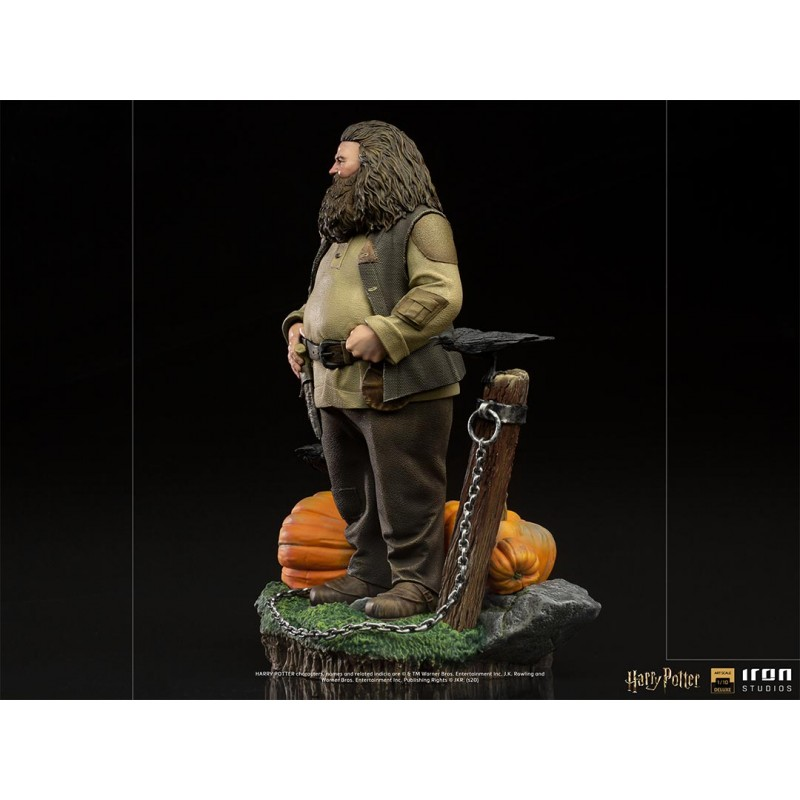 IRON STUDIOS HARRY POTTER HAGRID DELUXE ART SCALE 1/10 STATUE FIGURE