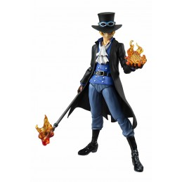 MEGAHOUSE ONE PIECE SABO VARIABLE ACTION HEROES STATUE FIGURE