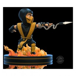 QUANTUM MECHANIX MORTAL KOMBAT Q-FIG DIORAMA SCORPION FIGURE