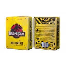 DOCTOR COLLECTOR JURASSIC PARK WELCOME KIT SET DA COLLEZIONE