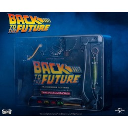 BACK TO THE FUTURE TIME TRAVEL MEMORIES KIT PLUTONIUM EDITION DOCTOR COLLECTOR