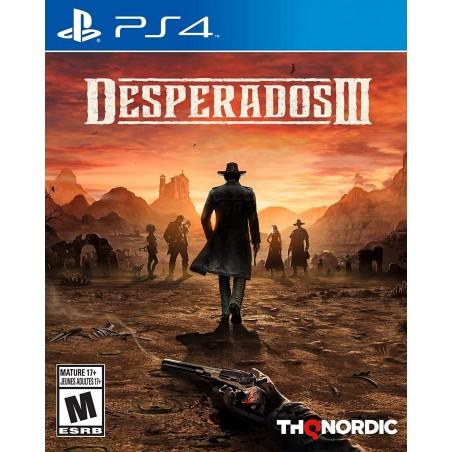 DESPERADOS III 3 PS4 PLAYSTATION 4 USATO ITALIANO