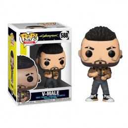FUNKO POP! CYBERPUNK 2077 V-MALE BOBBLE HEAD FIGURE FUNKO