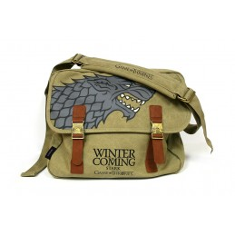 GAME OF THRONES STARK CANVAS MESSENGER BAG BORSA SD TOYS