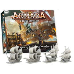 ARMADA TWO PLAYERS STARTER SET GIOCO DA TAVOLO MANTIC