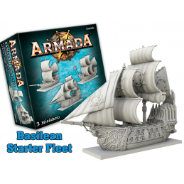 MANTIC ARMADA BASILEAN STARTER FLEET EXPANSION BOARD GAME