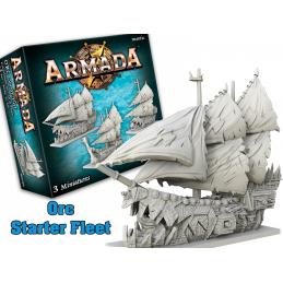 ARMADA ORC STARTER FLEET ESPANSIONE GIOCO DA TAVOLO MANTIC