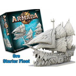 MANTIC ARMADA ORC STARTER FLEET EXPANSION BOARD GAME