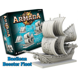 MANTIC ARMADA BASILEAN BOOSTER FLEET EXPANSION BOARD GAME