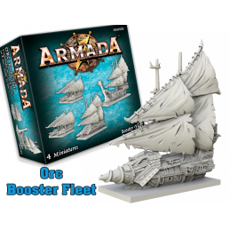 MANTIC ARMADA ORC BOOSTER FLEET EXPANSION BOARD GAME