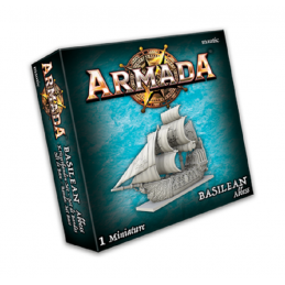 MANTIC ARMADA BASILEAN ABBESS MINIATURE BOARD GAME