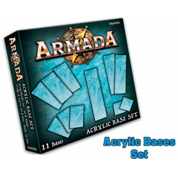 MANTIC ARMADA ACRYLIC BASES SET BOARD GAME