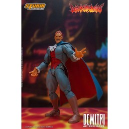 STORM COLLECTIBLES DARKSTALKERS DEMITRI MAXIMOFF 1/12 ACTION FIGURE