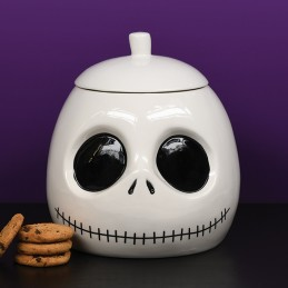 PYRAMID INTERNATIONAL NIGHTMARE BEFORE CHRISTMAS SKELLINGTON COOKIE JAR BISCOTTIERA