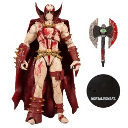 MC FARLANE MORTAL KOMBAT 4 - SPAWN BLOOD FEUD HUNTER 18CM ACTION FIGURE