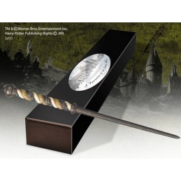 HARRY POTTER ALECTO CARROW WAND BACCHETTA NOBLE COLLECTIONS