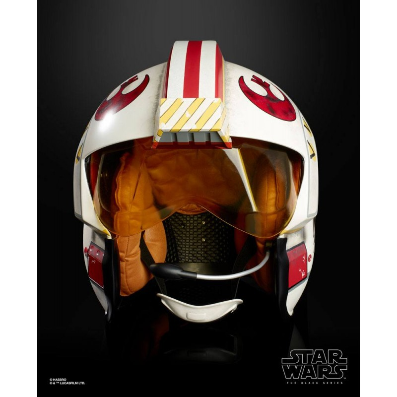 STAR WARS ELECTRONIC HELMET LUKE SKYWALKER FULL SCALE CASCO 1/1 HASBRO