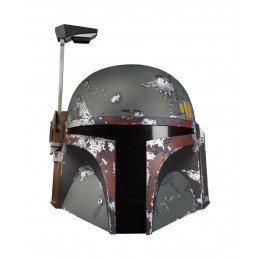 STAR WARS ELECTRONIC HELMET BOBA FETT FULL SCALE CASCO 1/1 HASBRO