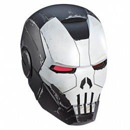 MARVEL GAMERVERSE ELECTRONIC HELMET PUNISHER WAR MACHINE FULL SCALE CASCO 1/1 HASBRO
