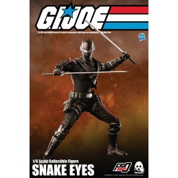 THREEZERO G.I. JOE SNAKE EYES 30CM ACTION FIGURE